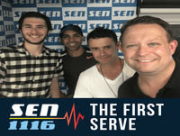 The First Serve Aussies Only Podcast 15th October 2018