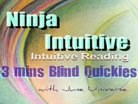 Reset, Reboot, Let Us Prepare Higher Resonance To Your True Self -- 3 Mins Intuitive Blind Reading Quickies