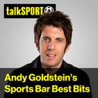 Andy Goldstein Sports Bar best bits podcast - Friday, September 1
