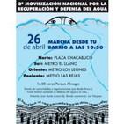 CÁpsula radial marcha por el agua 2014: cuÑa marcela mella