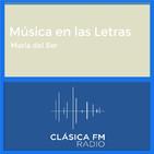 Música en las Letras - Clásica FM Radio