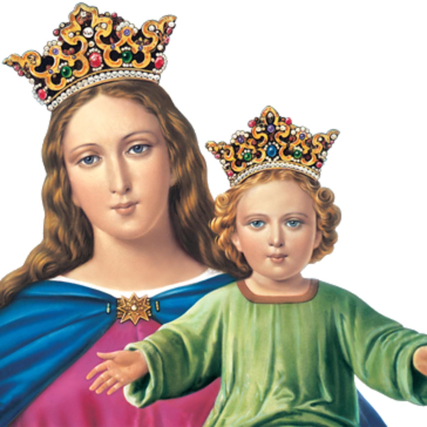 Con Flores A Maria Novena A Maria Auxiliadora Dia 1