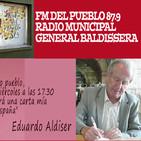 Cartas a Baldissera - Eduardo Aldiser - FM del Pueblo - Radio Municipal de General Baldissera, Córdoba