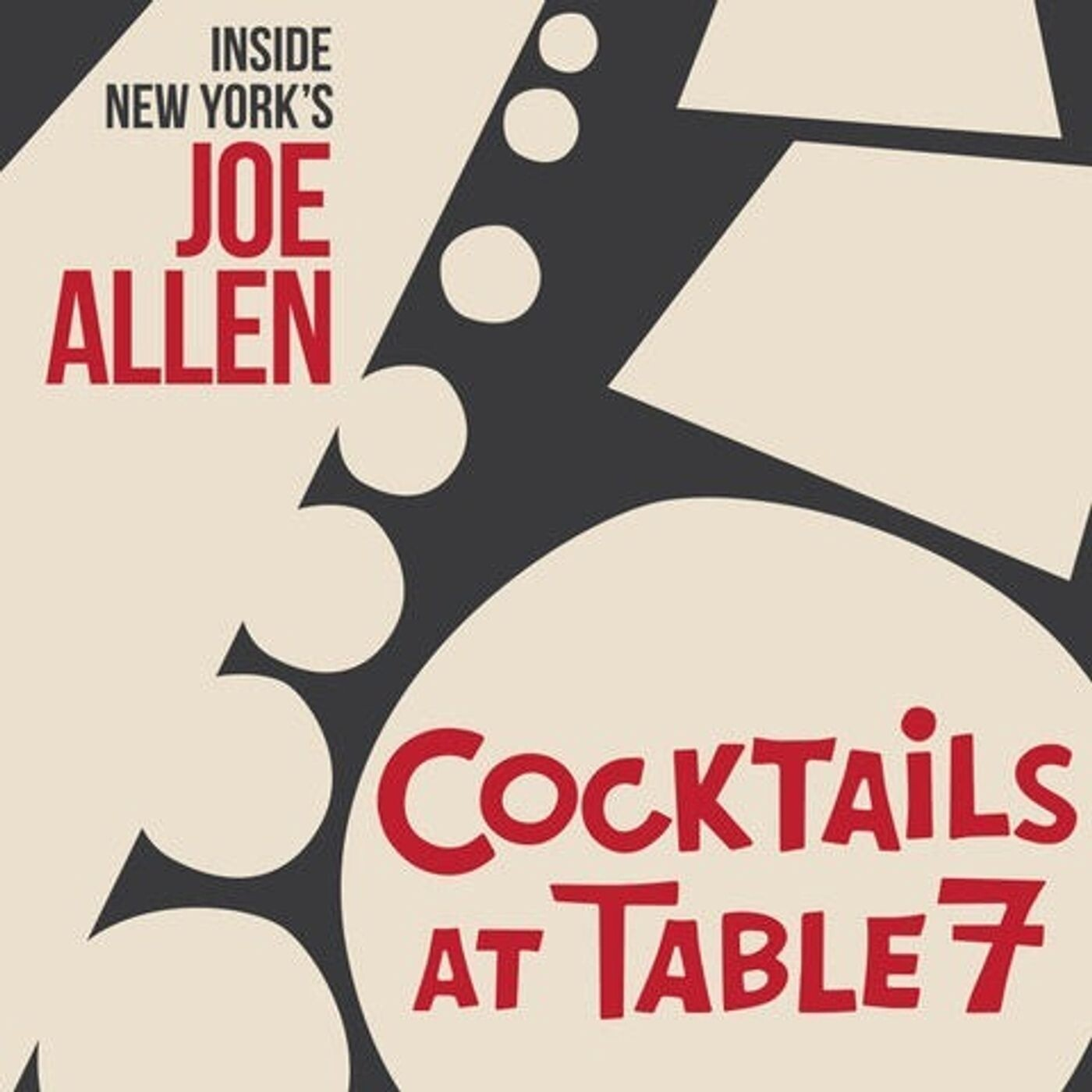 Cocktails at Table 7- with Richard Ridge