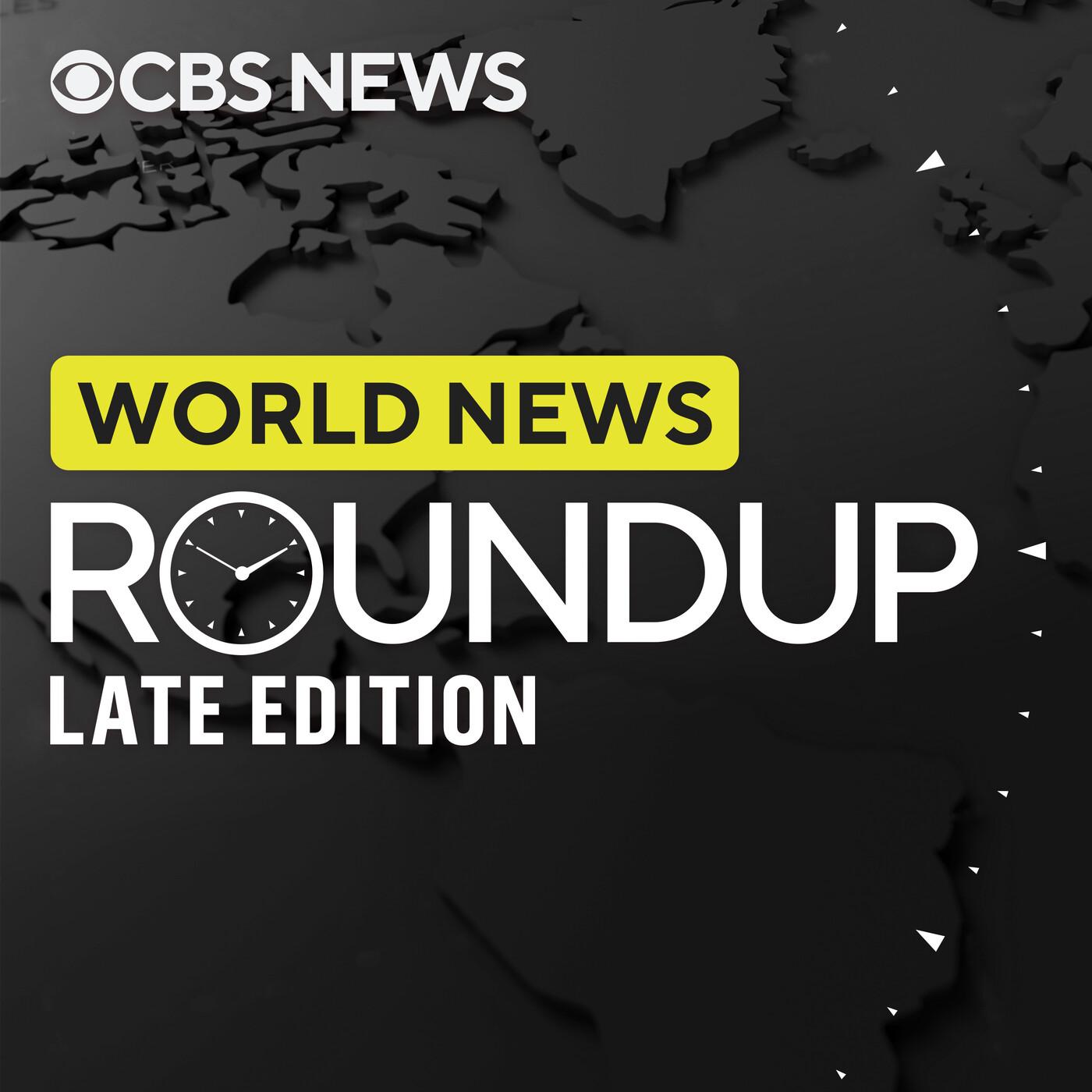 World news roundup late edition, 10/20