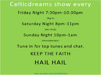 Celtic Dreams Sunday with HBB 2/17/19