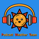 Sun, 19 May: Showers and possibly a thunderstorm, with Hazards – L: 59°, H: 69°