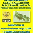 ELECCIONES MUNICIPALES 2019 - 26 mayo