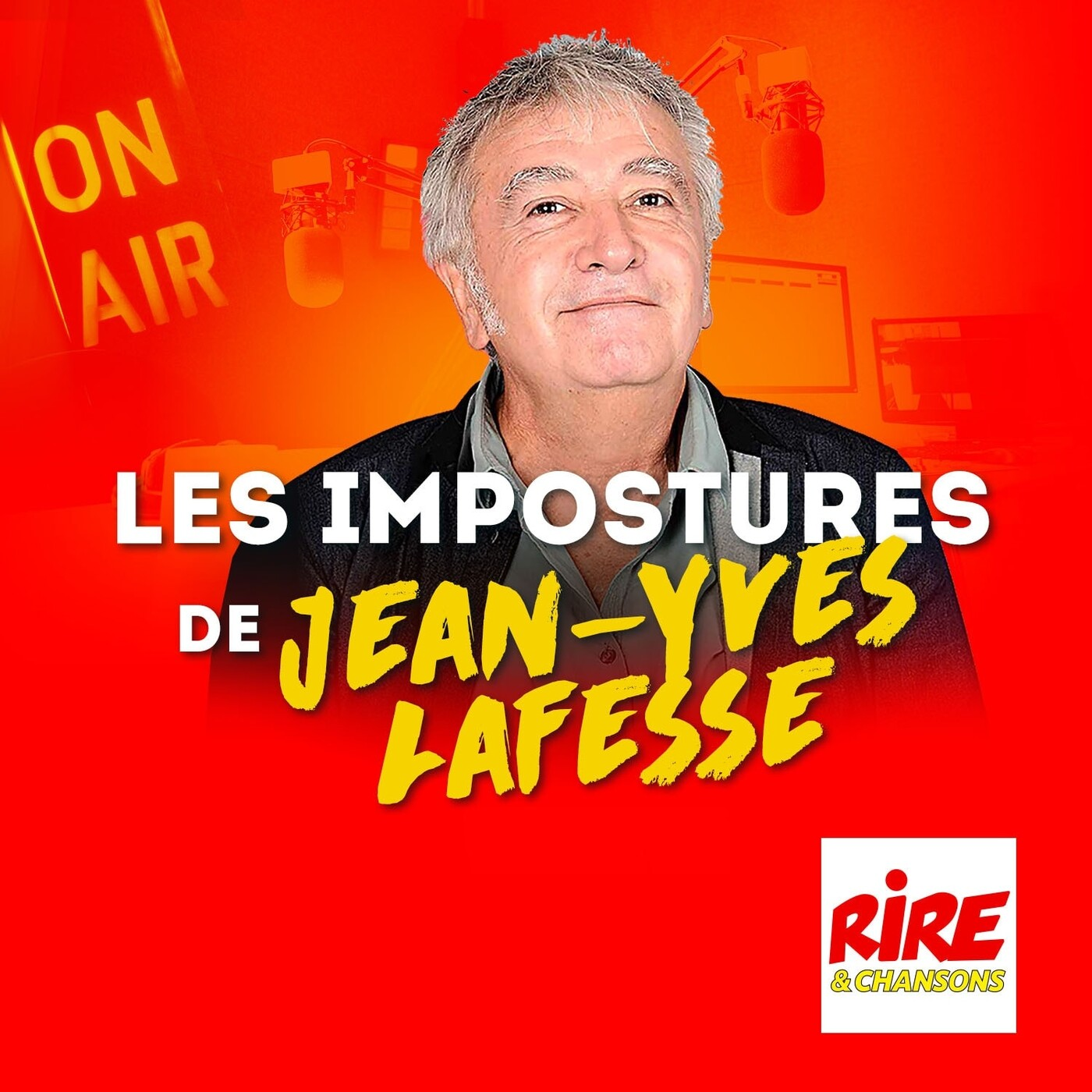 Une femme esquimaude à décongeler - Les impostures de Jean-Yves Lafesse en podcasts sur Rire & Chansons