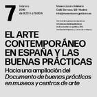 El Arte Contemporáneo en España   Buenas Prácticas