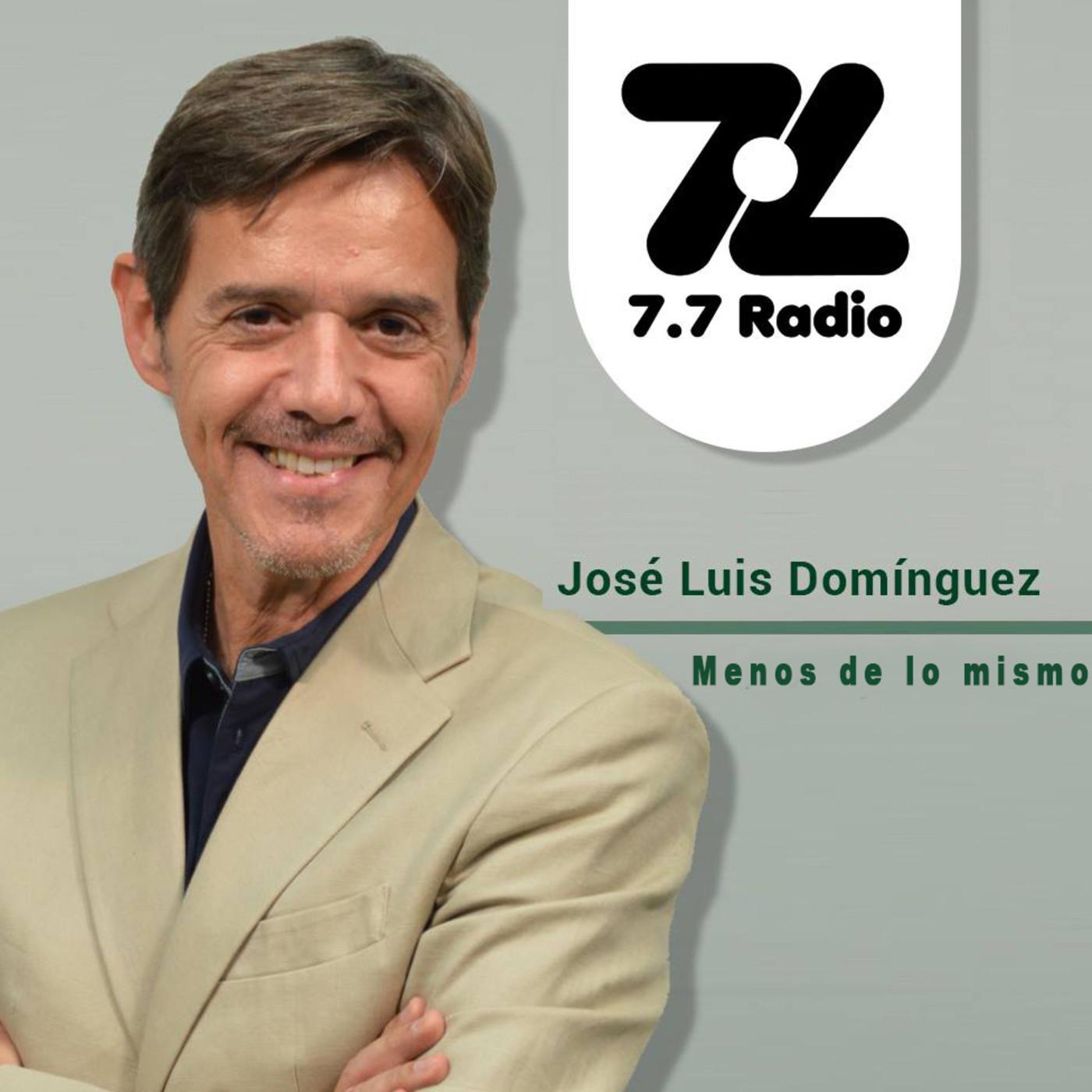 Alexis Ravelo en Menos de lo mismo@7punto7radio 121116
