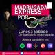 Lunes 11 de Noviembre 19, Madrugada Express
