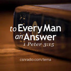 To Every Man An Answer 5/29/2019