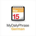 My Daily Phrase German