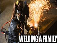 Welding a Family 057 - Welding After Dark