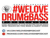 DJ 007 Presents #WeLoveDrum&Bass Podcast #279 Live @ Moscow (Part 2) #279