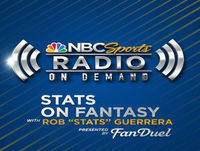 "Stats on Fantasy with Rob ""Stats"" Guerrera"