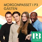 Morgonpasset i P3 - Gästen 2019-12-09 kl. 13.00