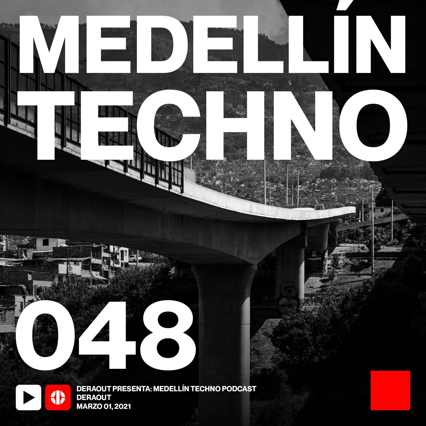 MTP029 - Medellin Techno Podcast Episodio 029 - Flug
