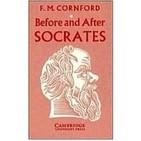 Antes y después de Sócrates de Francis M. Cornford