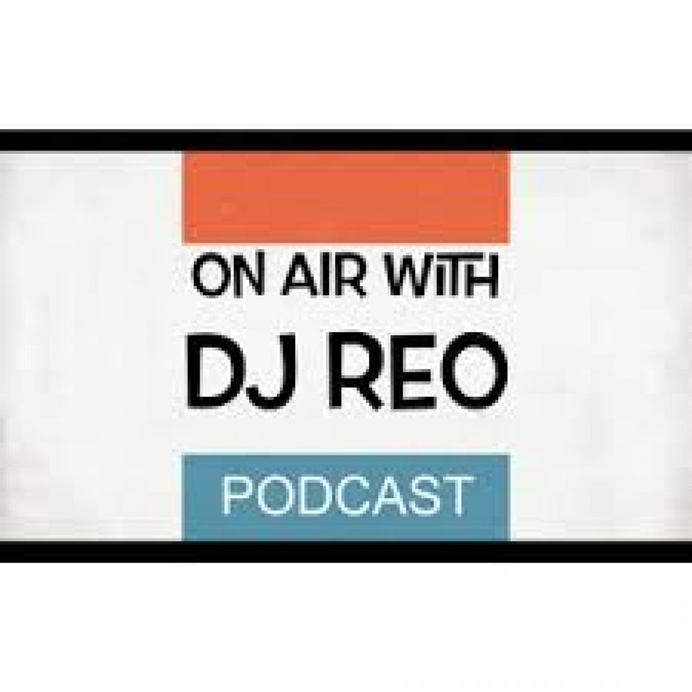 On air with DJ REO
