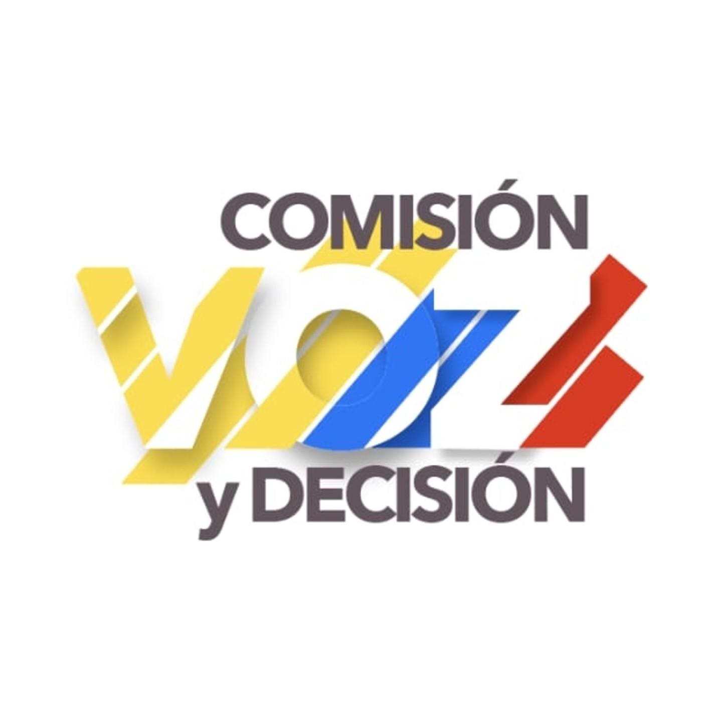 Comisiones: Voz y Decisión