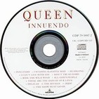 QUEEN & MAY (INNUENDO Y BACK TO THE LIGHT) SONGS