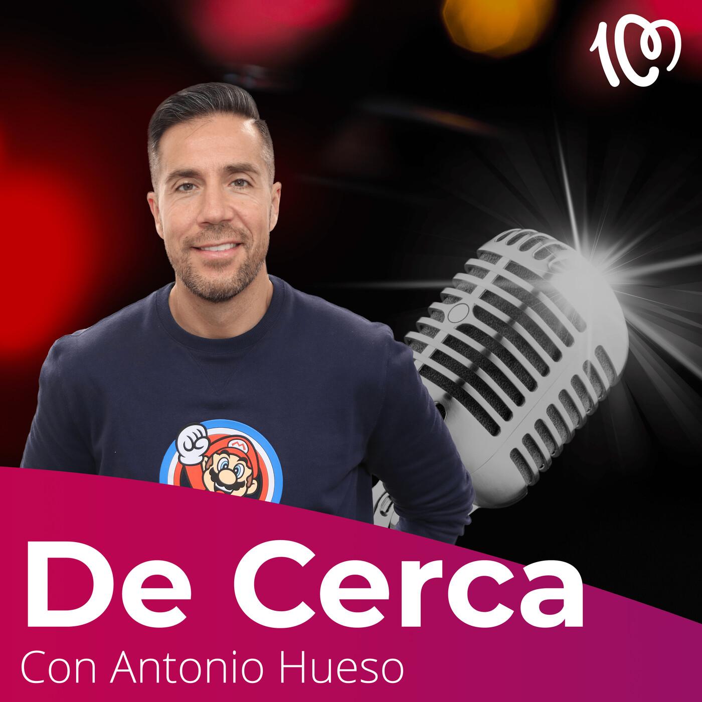 Antonio Hueso de cerca