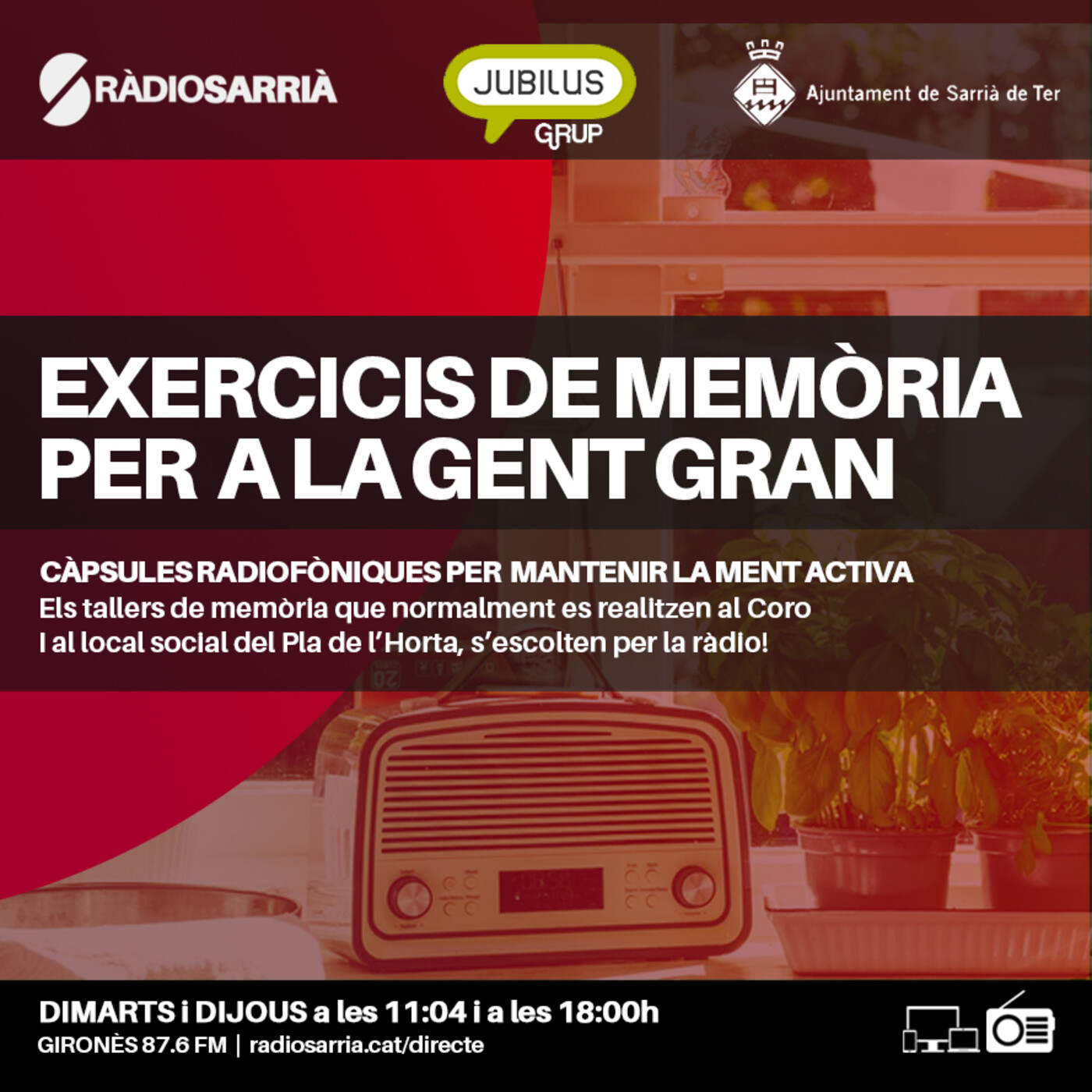 Exercicis de memòria per a la gent gran: Dimarts 20 d'octubre del 2020