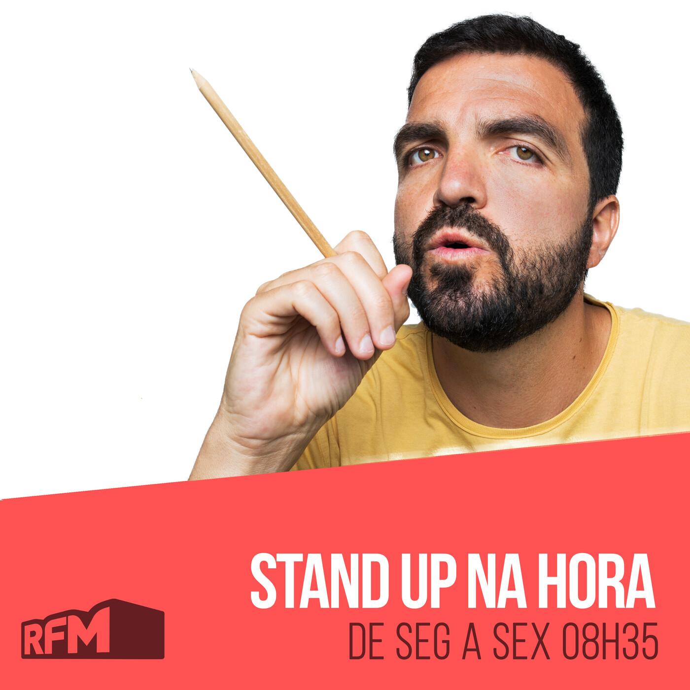 Rfm - stand up na hora: marcelo em tronco nu