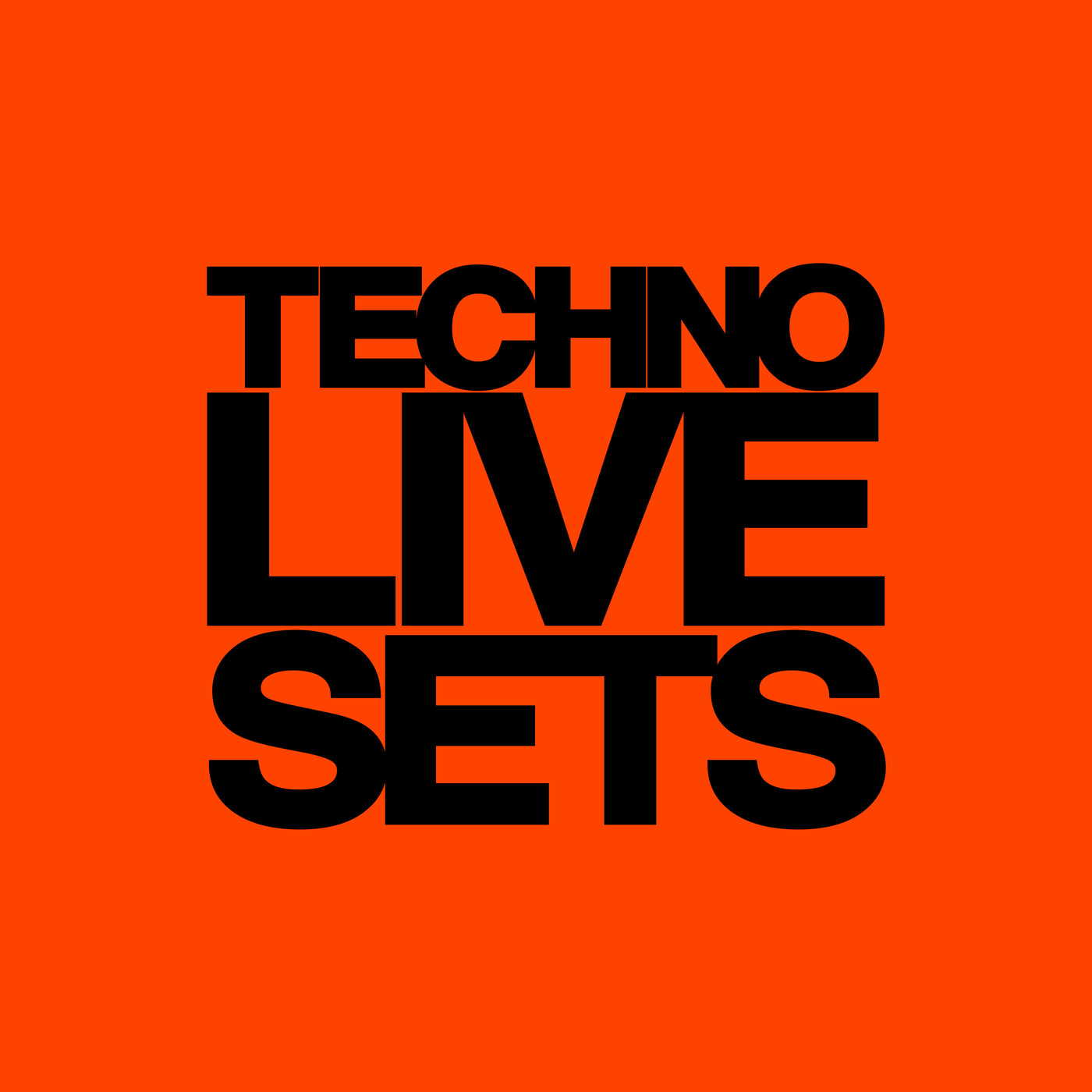 Techno Live Sets TLS Podcast