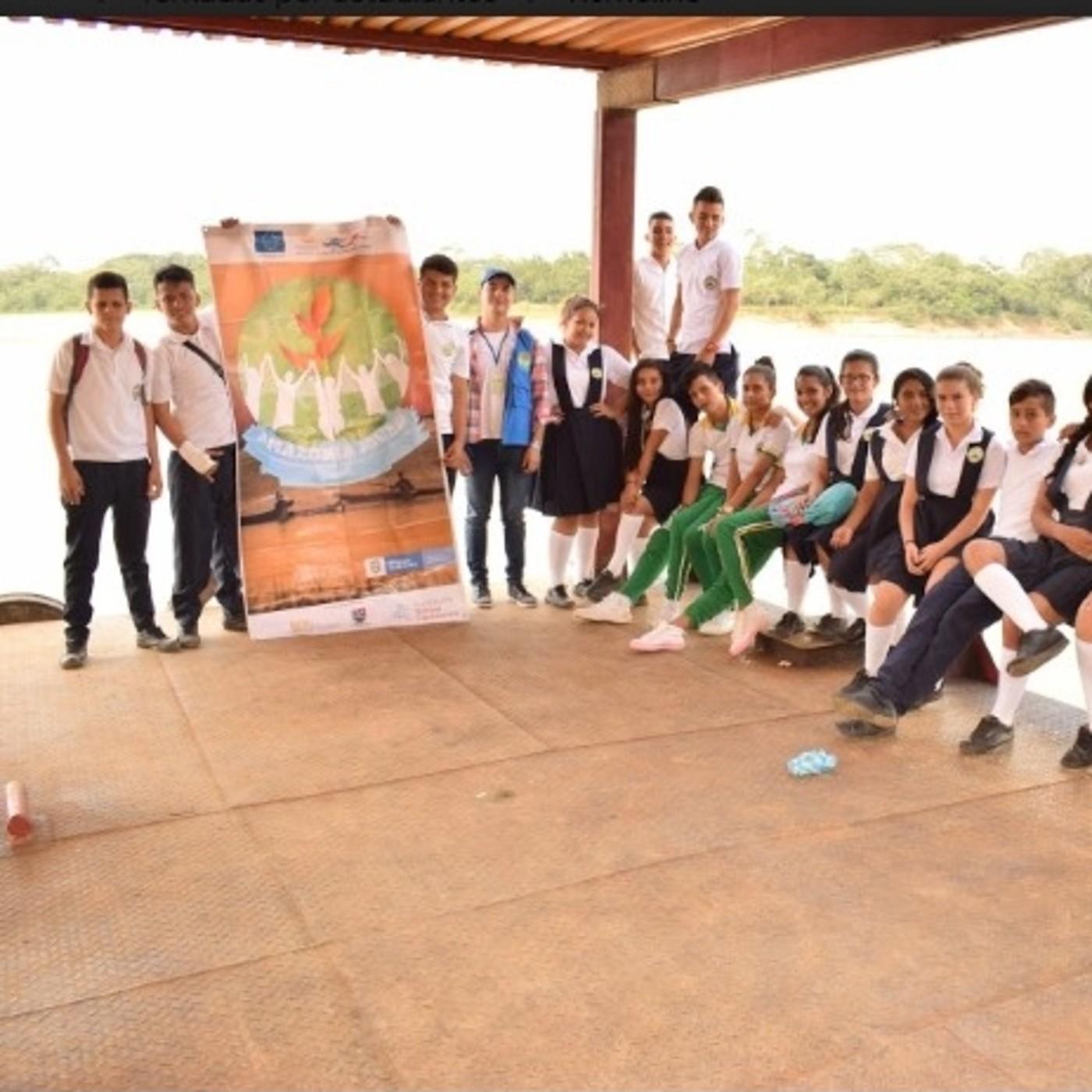 Remolino del Caguán, compartiendo cultura