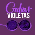 gafas violetas ser mujer en el mundo virtual.