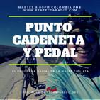 Punto, cadeneta y pedal