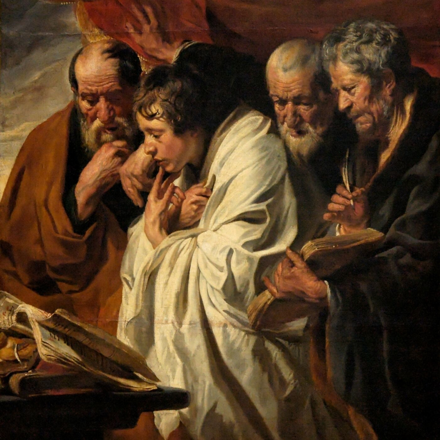Jesus Prays for Himself