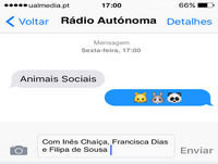Animais sociais - 11-03-2016