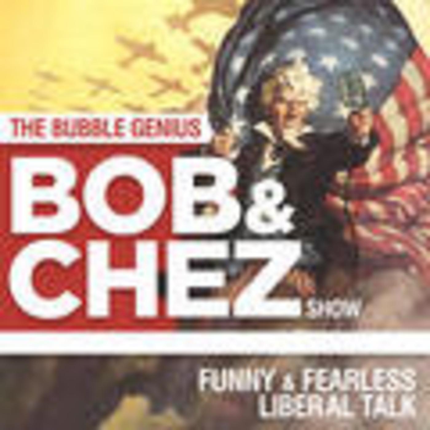 Bob Cesca and Chez Pazienza