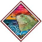 Iguanas en el Mar